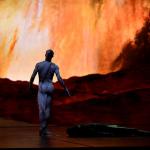 Backcloth by designer and artist John Macfarlane for the Royal Ballet's production of Frankenstein, 2016 (copyright John Macfarlane)