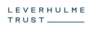 Logo of the Leverhulme Trust showing the organisation name in blue on a white background